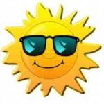 Sommer-Smily-Brille
